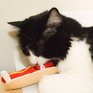Catnip Hot dog - 3 W cats