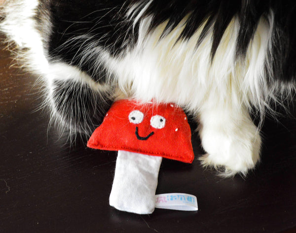 Magic Mushrooms Catnip Toy - 3 W cats
