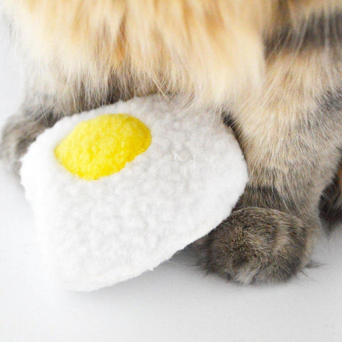 Catnip or Valerian Egg Toy - 3 W cats