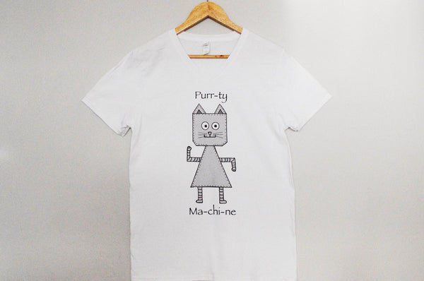 Cat Robot T-shirt