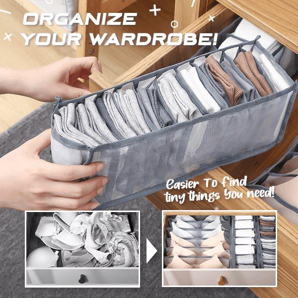 Closet Drawer Underwear Organizer