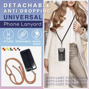 Adjustable Detachable Phone Cord Lanyard