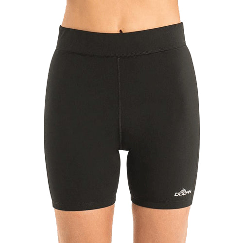 Dolfin Aquashape Women's Mid-Length Short: Black