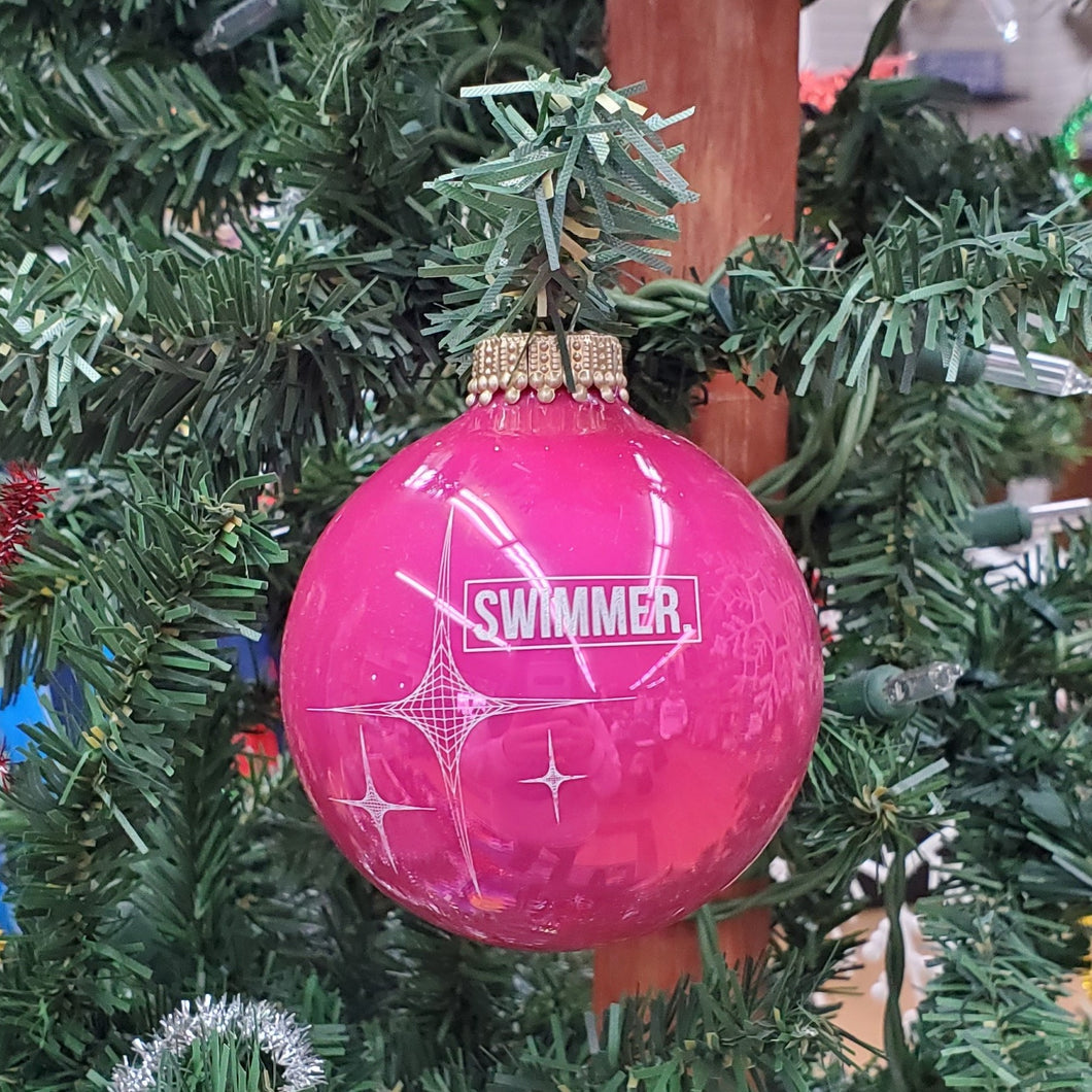 Swimmer Star Ornament