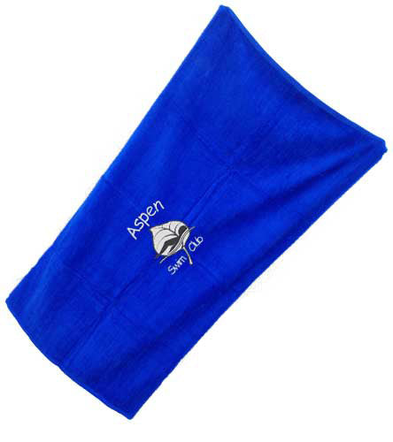 Aspen Embroidered Towel