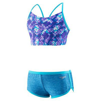 Speedo High Neck Camikini Boyshort 2PC