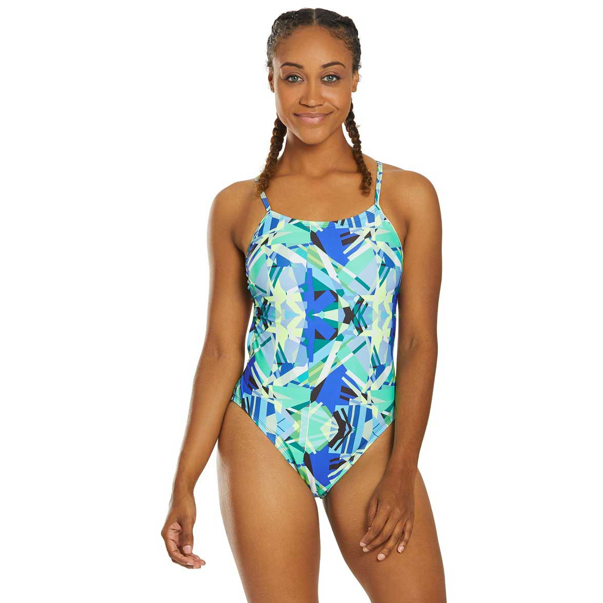 Nike Prisma Punch Cutout One Piece