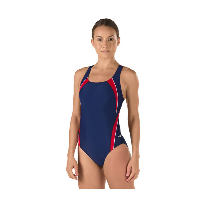 Speedo Taper Splice One Piece