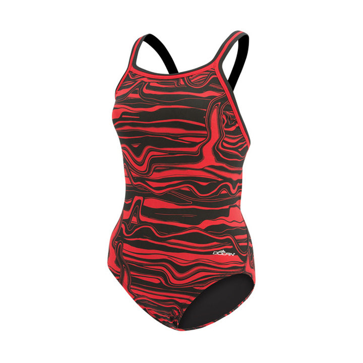 Dolfin Lava Female One Piece