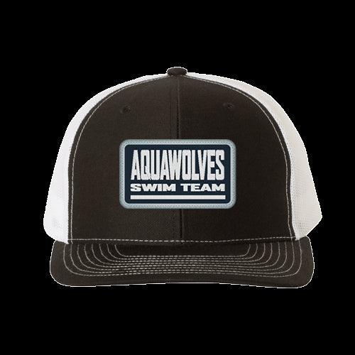 Aquawolves Trucker Hat Patch Logo