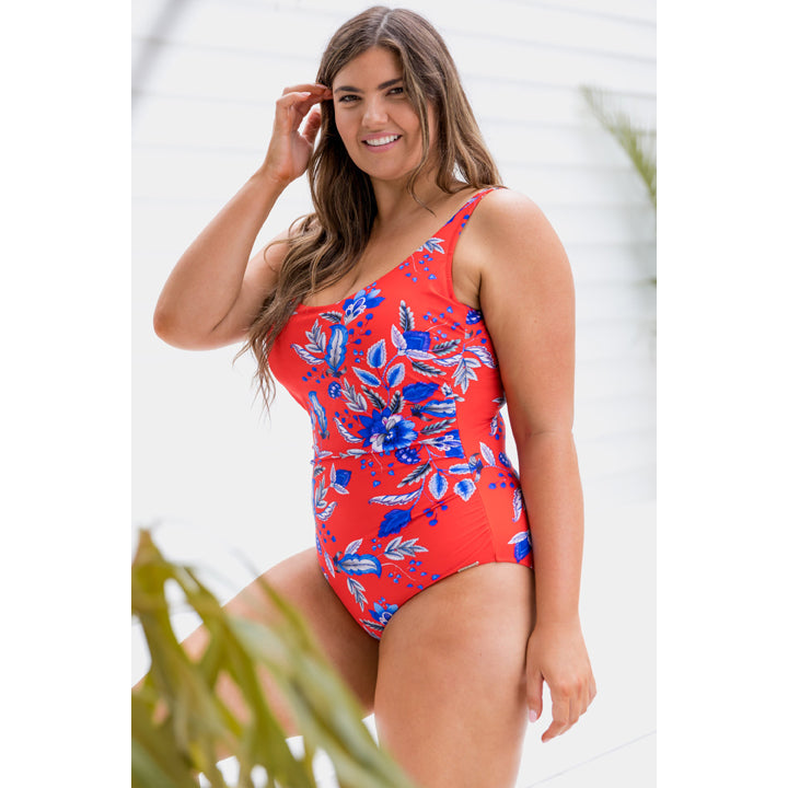 Capriosca Cherry Blossom Scoop One Piece