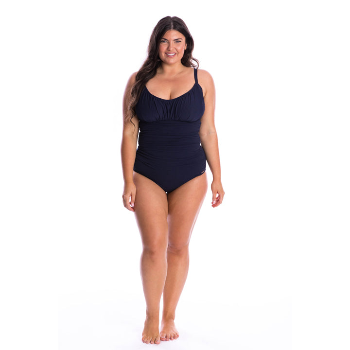 Capriosca Honey Comb Underwire One Piece