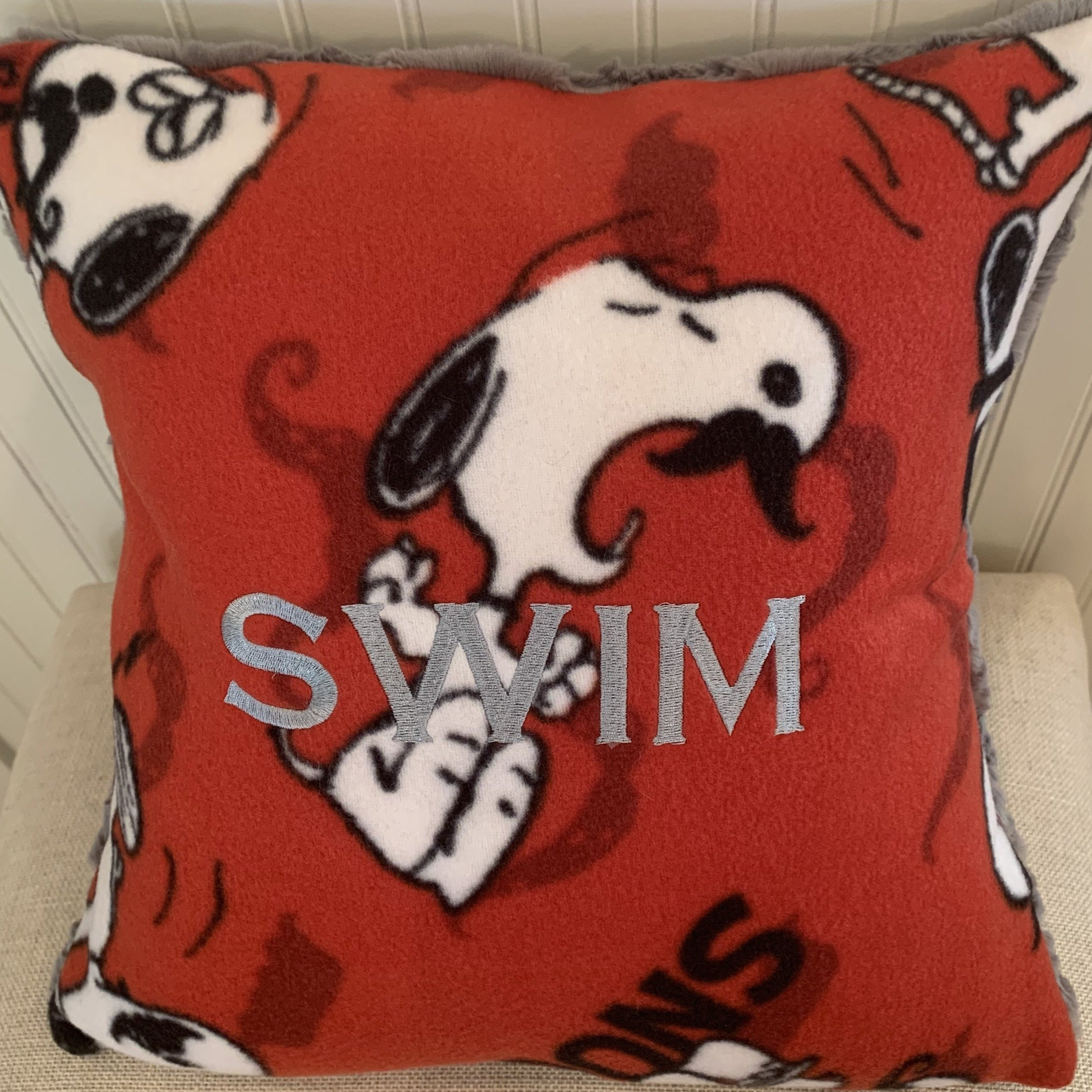 Snoopy Swim Pillow