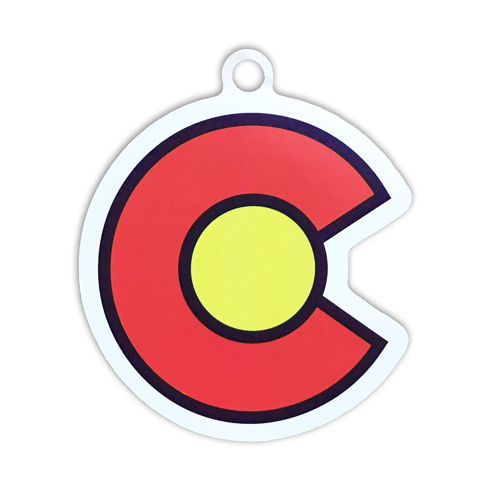 Colorado Red C Sticker