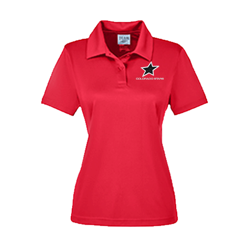 Stars Ladies Dry Wick Polo