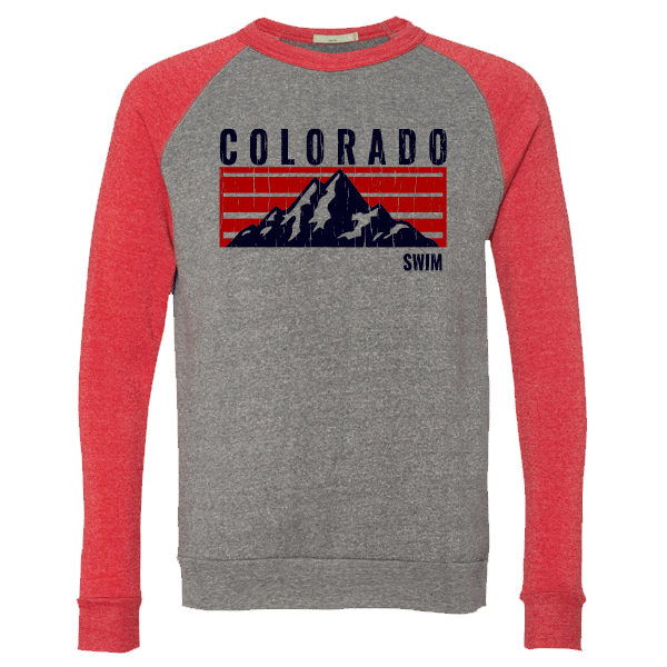 Swim Colorado Mountain Logo Crewneck Sweatshirt