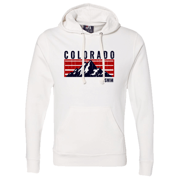 Swim Colorado Mountain Logo Hoody