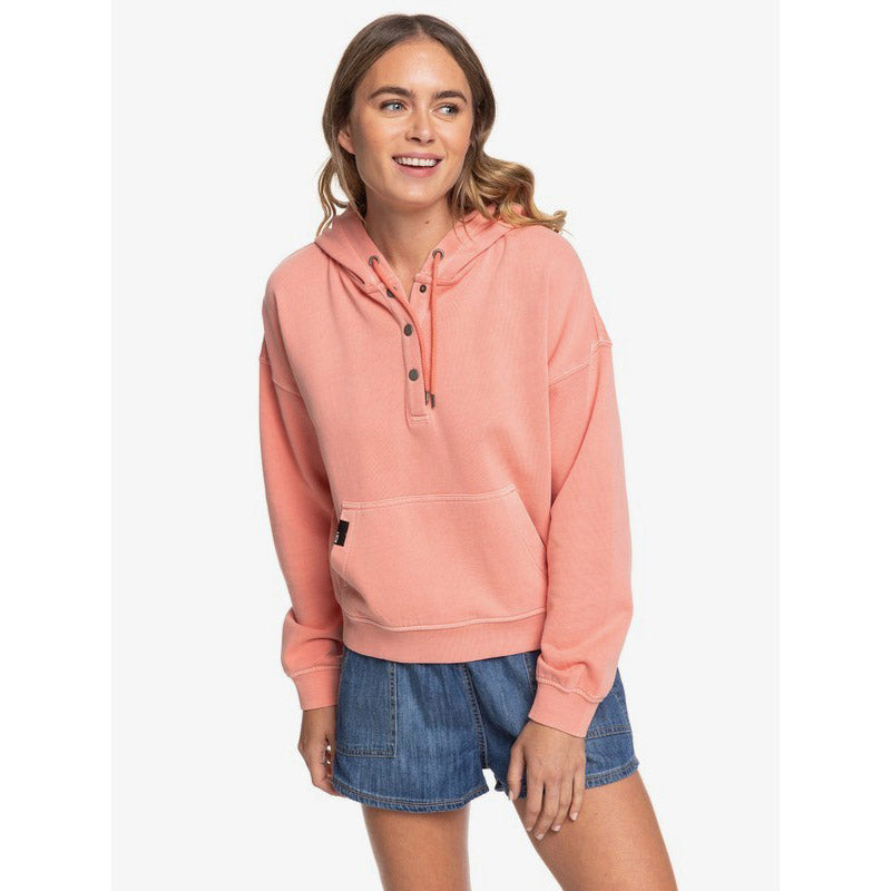 Roxy Girls Who Slide Womens Pullover Hoodie