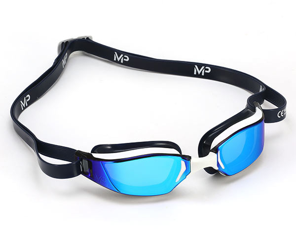 MP Michael Phelps Xceed Titanium Mirrored + Goggle