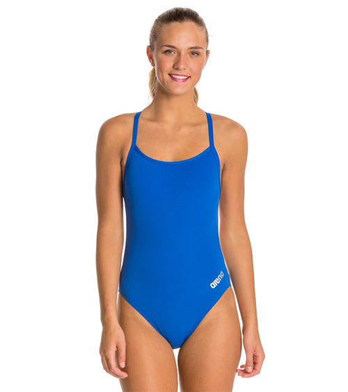 Arena Mast Girls One Piece Tech Back
