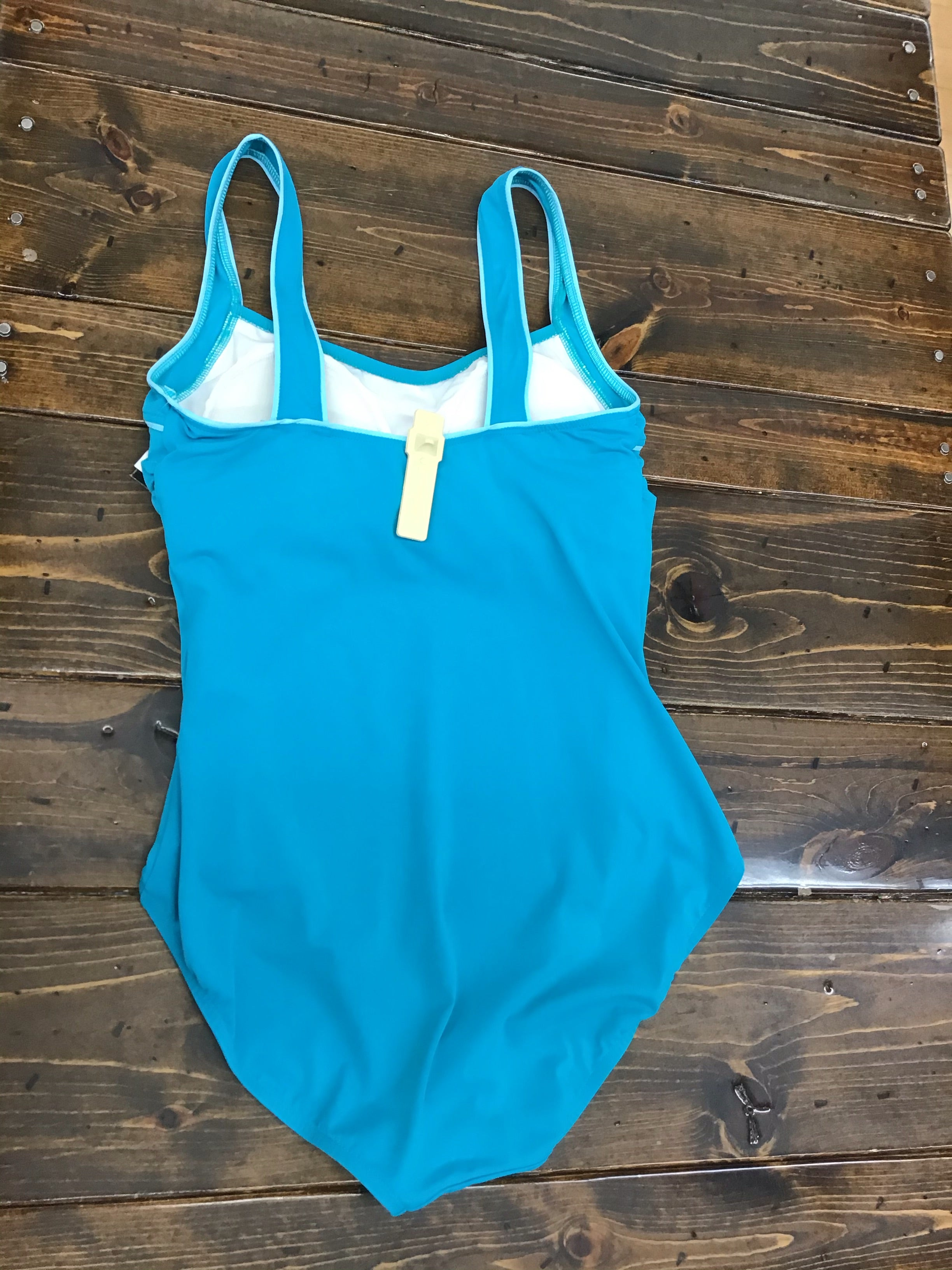 TYR Solid Square Neck Controlfit One-Piece