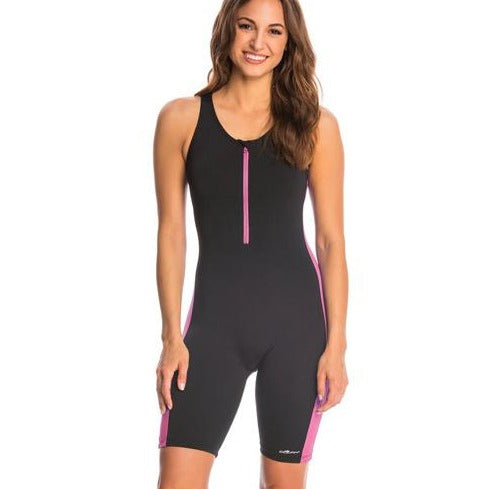 Dolfin Aquashape Zip-Front One Piece Aquatard