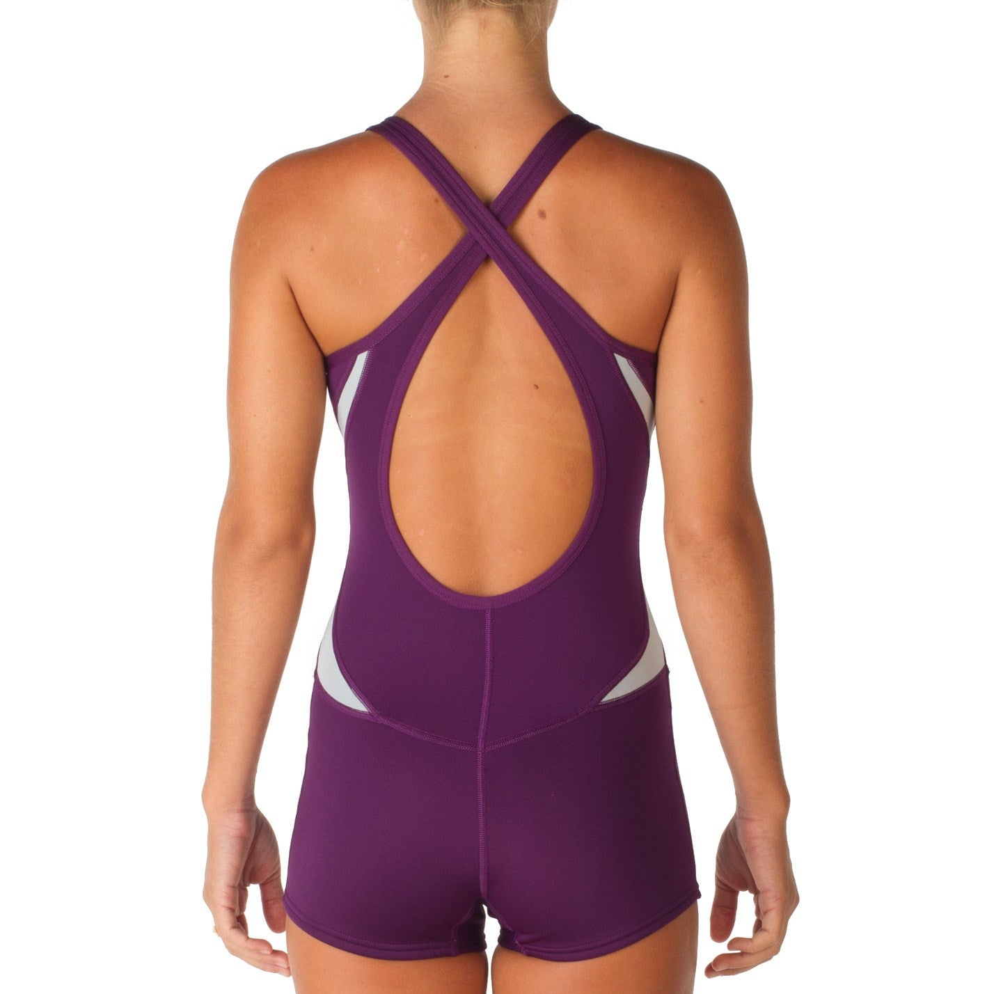 Xcel Women's 2MM Axis Cross Back Boy Cut Short John Wetsuit