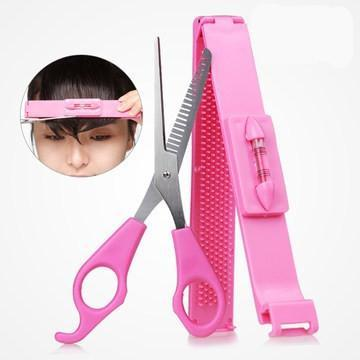 Hair scissors bang modelling set DIY hair tools - enwigs.com