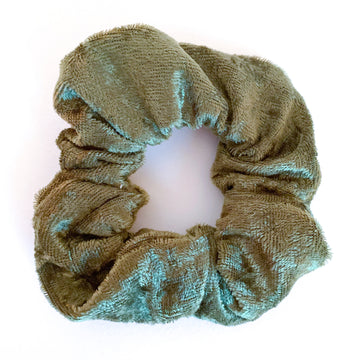 Sale: Velvet Scrunchie - Green