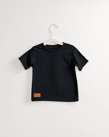 Teeny Toddler Tee's - Heathered Black