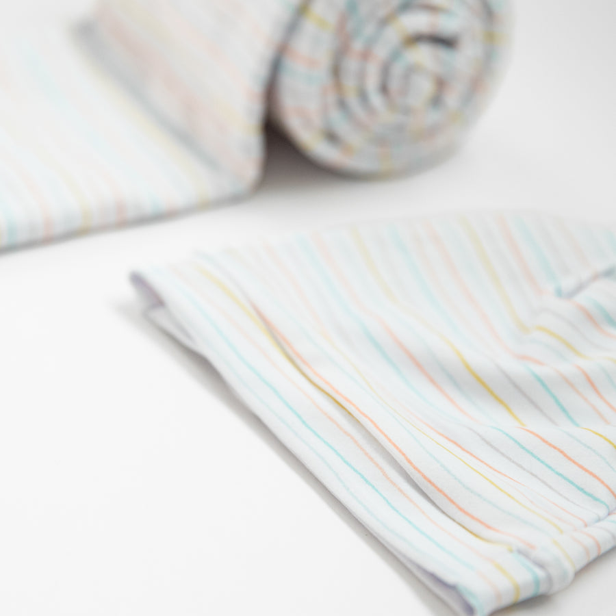 Original Jersey Swaddles & Hats- Striped