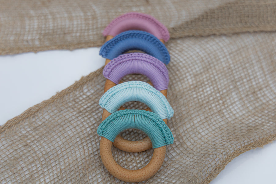 Teething Ring- Aqua