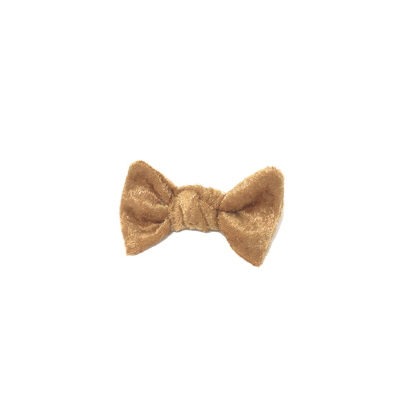 Sale: Velvet Bow - Gold