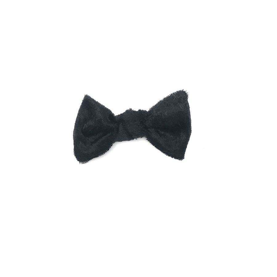 Sale: Velvet Bow - Black
