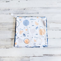 SALE: Snuggle Bug Blanket - Abstract Circles