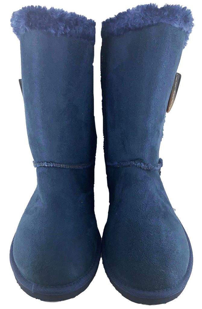 "Naomi 8""Basic Ugg Style Boot with Toggle"