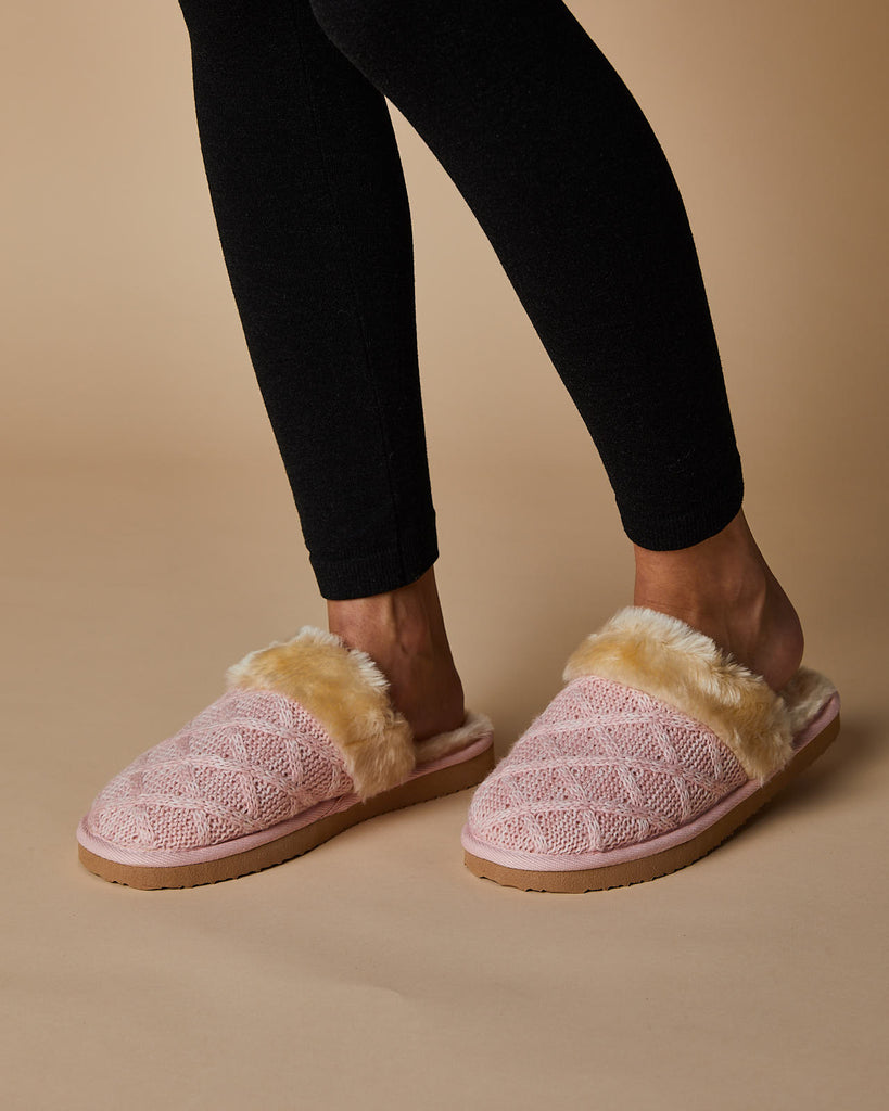 Harlow Knit Ugg Slipper Slide