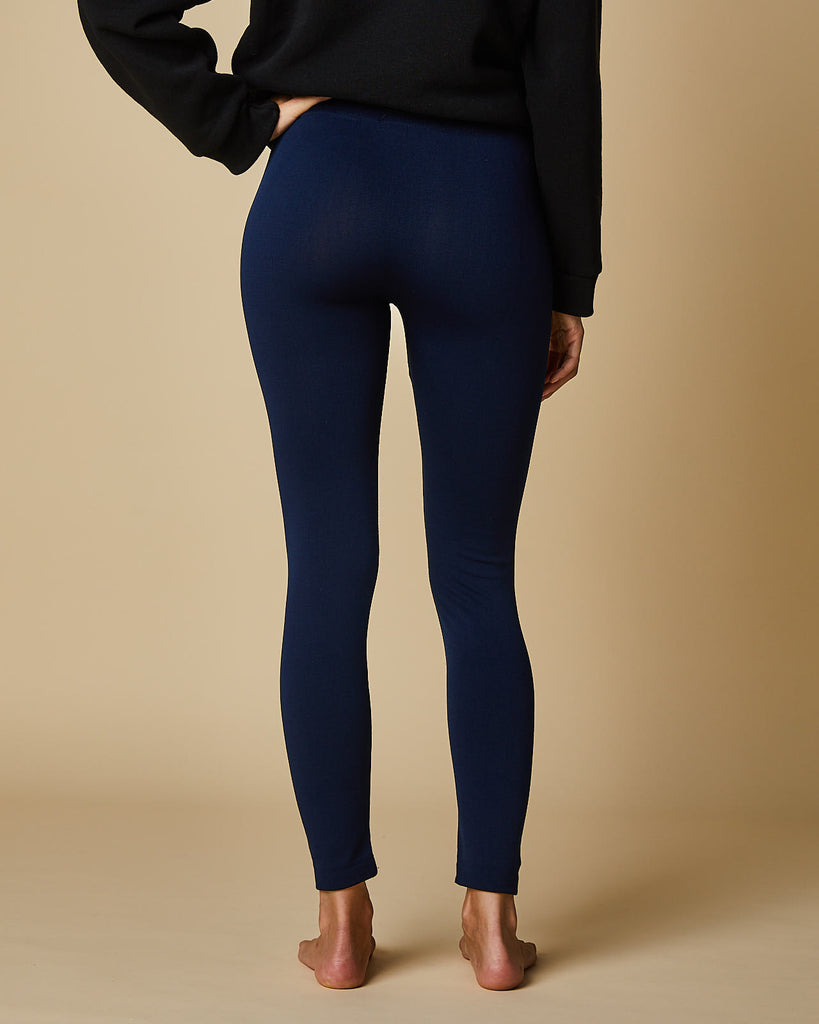 Plain Plush Leggings