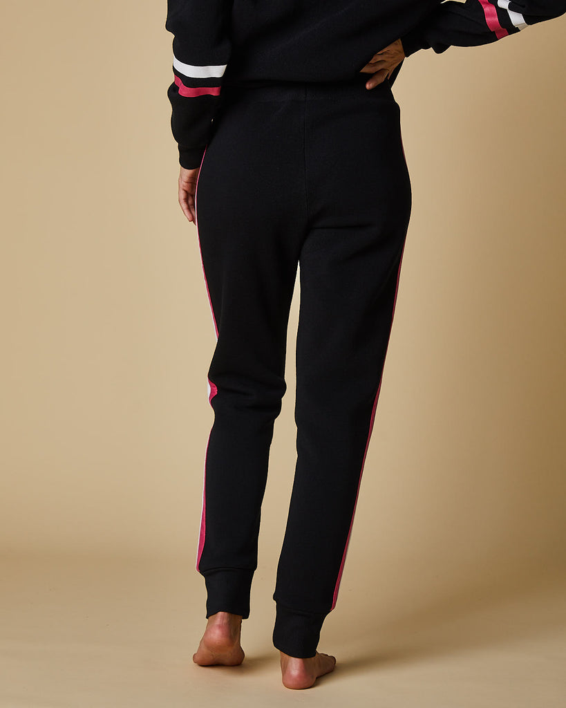 Pant With Rib Cuff & Feature Side Stripe
