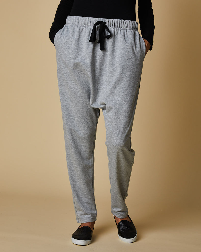 Slouch Pant- Grey Marle