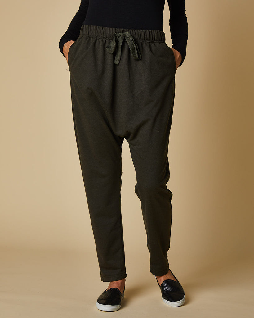 Slouch Pant- Olive