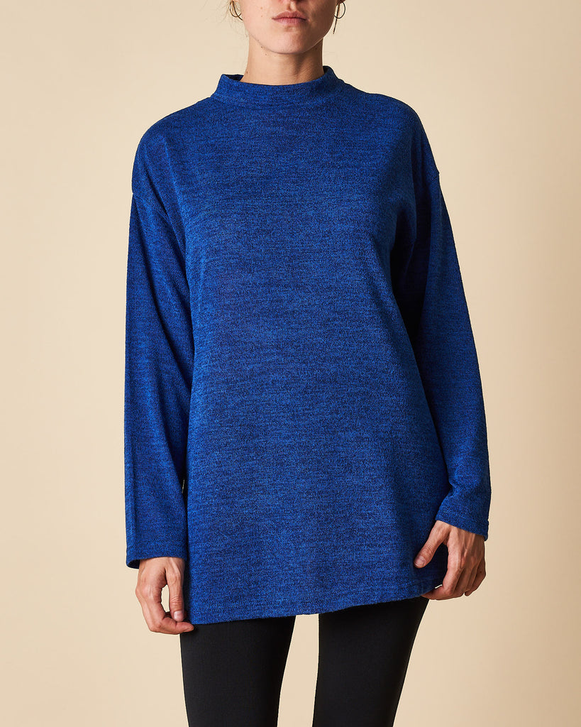 Turtle Neck Tunic Top