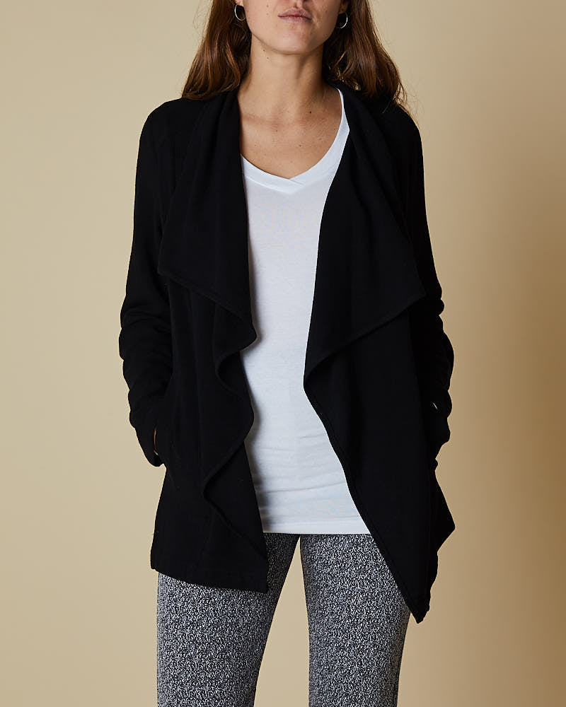 Waterfall Jacket Black