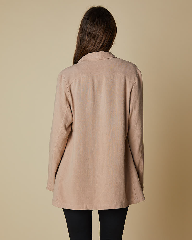 Waterfall Jacket Taupe