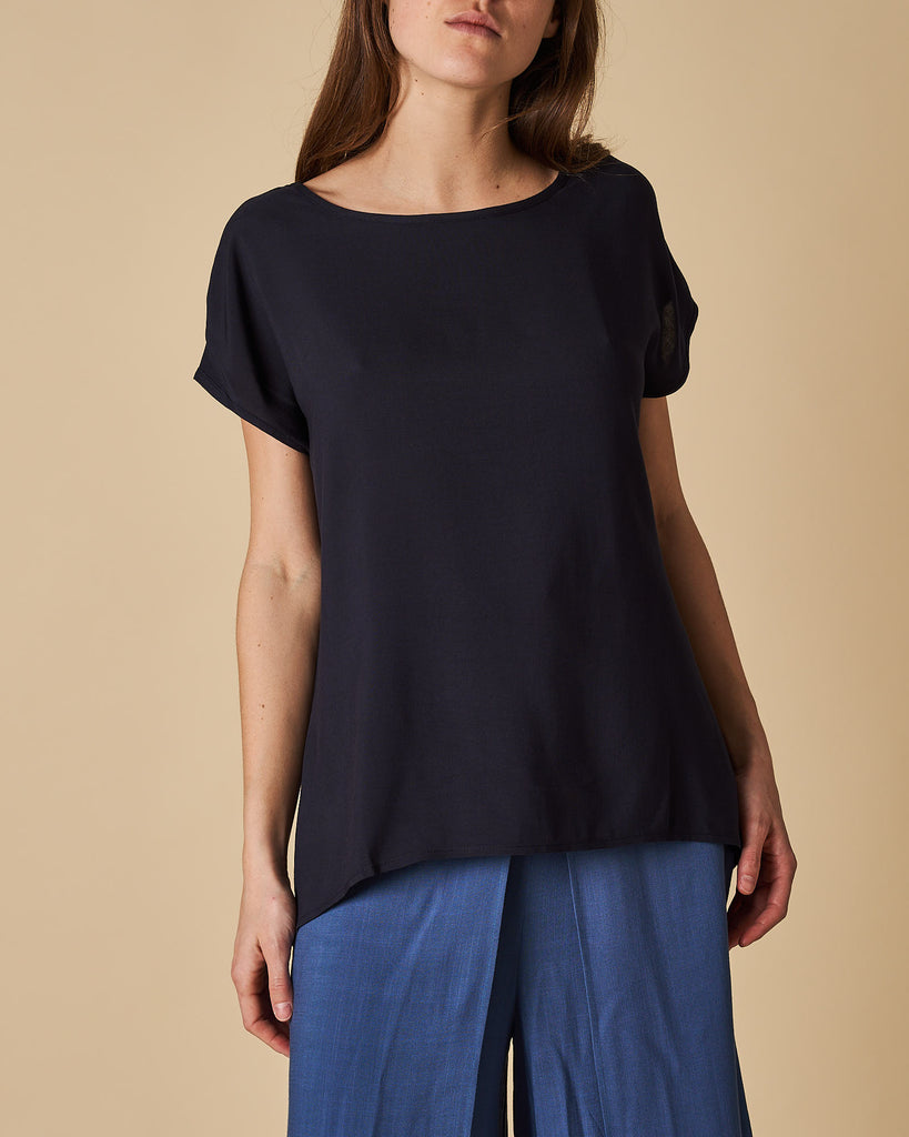Batwing Top - Black