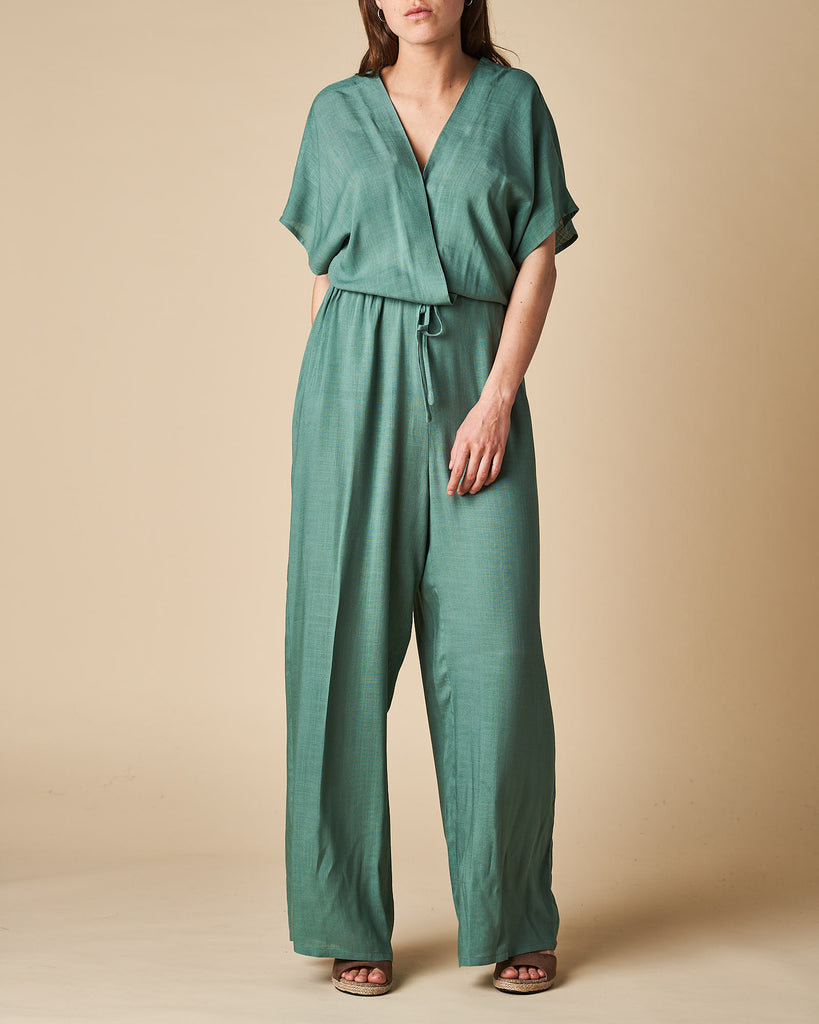 Long Jumpsuit X-Over