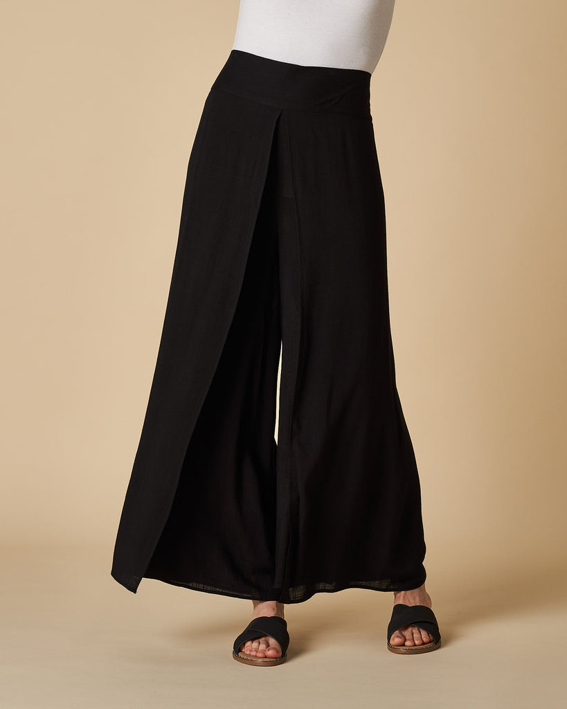 Wrap Pants - Black