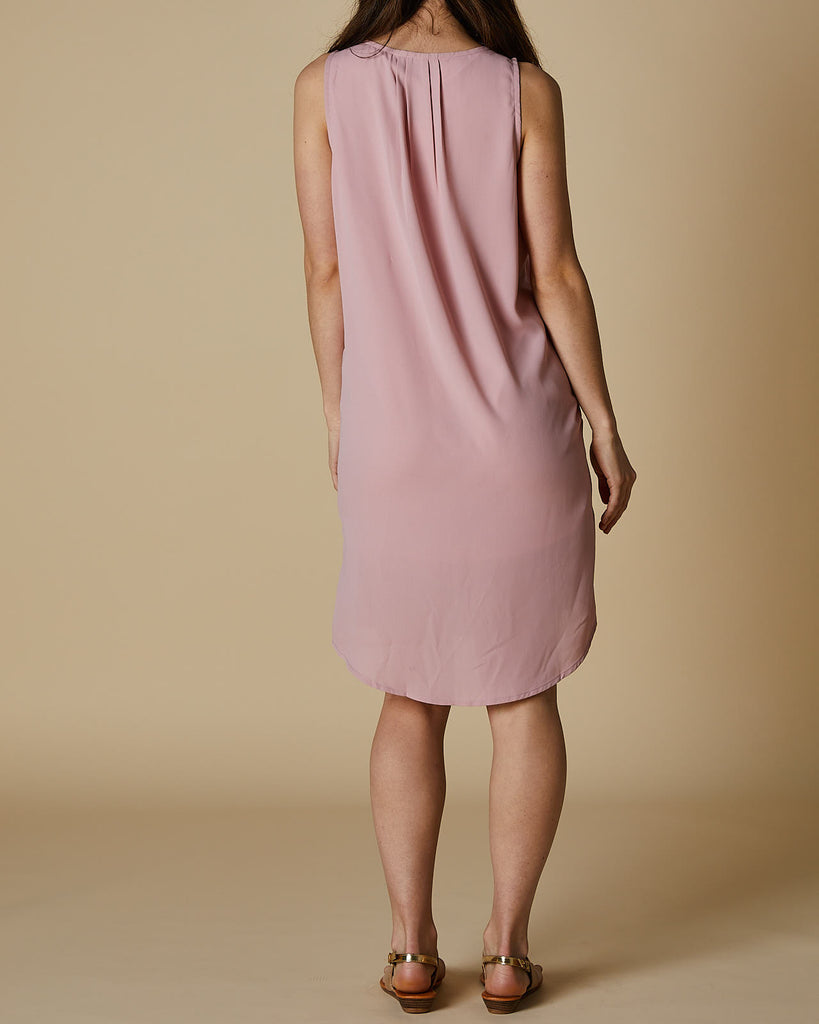 Cherry Lane | VNeck Tank Dress | Musk