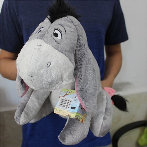 Gray Eeyore Stuffed Animal Soft And Plush