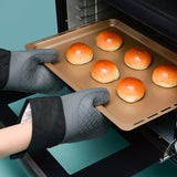 Kitchen Oven Gloves Heat and Cold Resistant Silicone Oven Mitts